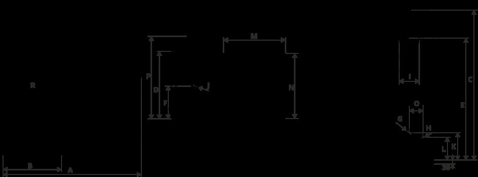 Размеры Котел Metal-Fach SEG BIO 38 кВт с правой подачей