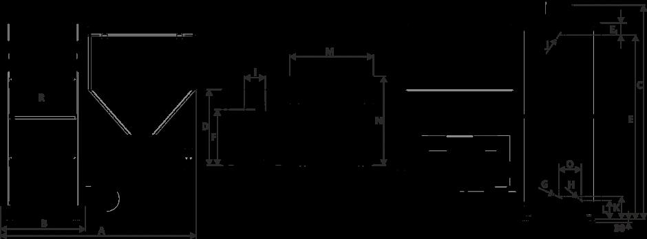 Размеры Котел Metal-Fach SMART Auto BIO 20 кВт с левой подачей