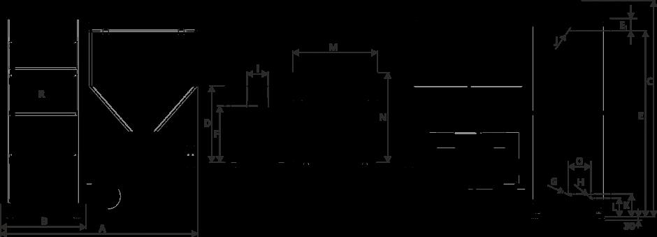 Размеры Котел Metal-Fach SMART Auto ECO 30 кВт с левой подачей